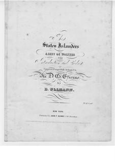 The Staten Islanders: The Staten Islanders by B. Ullmann