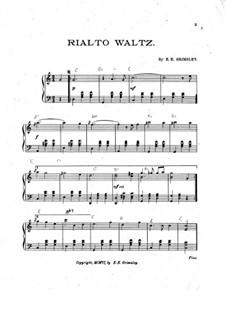 Rialto Waltz: Rialto Waltz by E. E. Grimsley