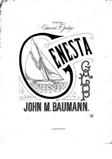 Genesta. Galop: Genesta. Galop by John M. Baumann