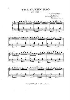 Queen Rag: Для фортепиано by Floyd Willis