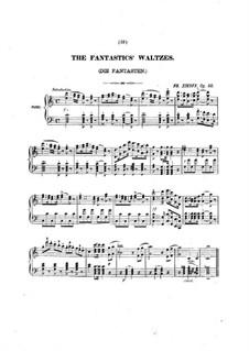The Fantastics' Waltzes, Op.50: The Fantastics' Waltzes by Friedrich Zikoff