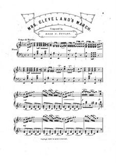 Mrs. Cleveland's March: Mrs. Cleveland's March by Rose C. Bailey
