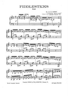 Fiddlesticks: Fiddlesticks by Al. B. Coney