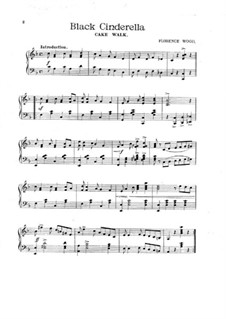 Black Cinderella, for Piano: Black Cinderella, for Piano by Florence Wood