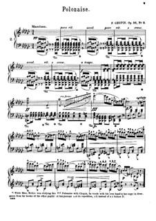 Полонезы, Op.26: No.2 ми-бемоль минор by Фредерик Шопен