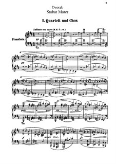 Стабат Матер, B.71 Op.58: Часть I by Антонин Дворжак