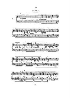 Сон Геронтия, Op.38: Часть II, для голосов и фортепиано by Эдуард Элгар