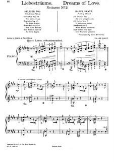 Ноктюрн No.2: Для фортепиано by Франц Лист