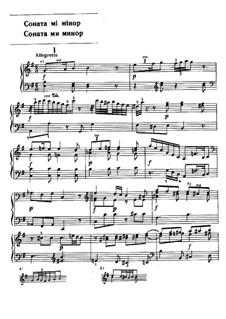 Коллекция VI, Wq 61: Соната No.2 ми минор by Карл Филипп Эммануил Бах