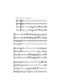 Десять трио-сона: Соната No.9 фа мажор, Z 810 by Генри Пёрсел