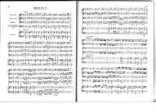 Десять трио-сона: Соната No.5 соль минор, Z 806 by Генри Пёрсел