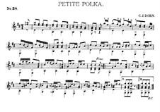 Альбом гитариста, Op.27: No.38 Маленькая полька by Charles James Dorn