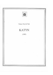Katyn: Партитура by Nancy Van de Vate