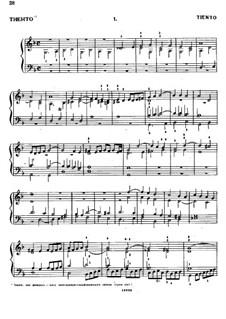 Тиенто No.1: Тиенто No.1 by Антонио де Кабесон
