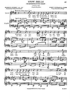 Альбом песен для юношества, Op.79: No.27 Snow-Bells by Роберт Шуман