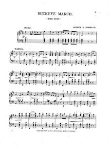 Buckeye March: Buckeye March by Arthur S. Josselyn