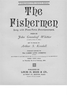 The Fishermen: The Fishermen by Arthur S. Kendall