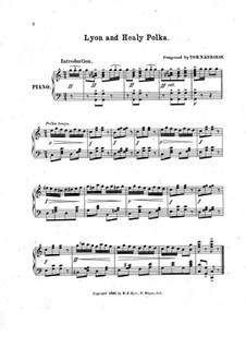 Lyon and Healy Polka: Lyon and Healy Polka by Tom N. Kershaw