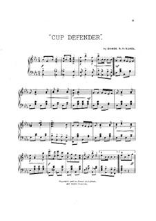 Cup Defender: Cup Defender by Homer R. S. Klock