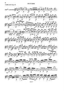 Рондолетто на тему арии 'Клик Клак', Op.41: Рондолетто на тему арии 'Клик Клак' by Маттео Каркасси