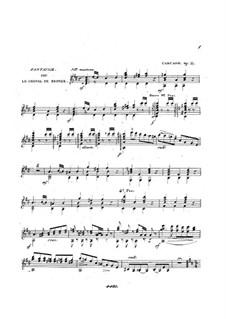 Фантазия на темы из оперы 'Бронзовая Лошадь' Обера, Op.57: Фантазия на темы из оперы 'Бронзовая Лошадь' Обера by Маттео Каркасси