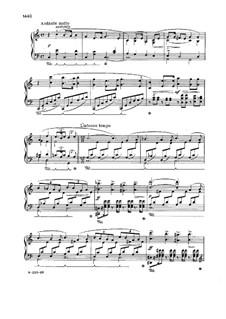 Соната для фортепиано ми минор, Op.7: Часть II by Эдвард Григ