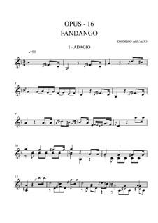 Le fandango, Op.16: Адажио by Дионисио Агуадо