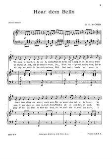 Hear dem Bells: Hear dem Bells by D. S. McCosh
