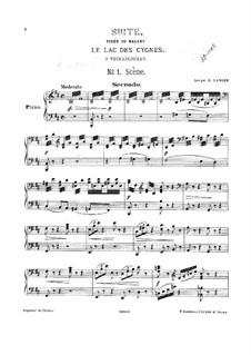 Версия A: Для фортепиано в четыре руки by Петр Чайковский