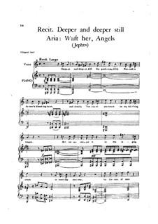 Иеффай, HWV 70: Recitative: 'Deeper and deeper still'. Aria: Waft her, Angels by Георг Фридрих Гендель