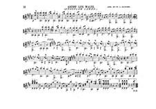Жизнь артиста, Op.316: Для гитары by Иоганн Штраус (младший)