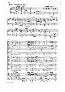 Часть II: No.78 by Иоганн Себастьян Бах