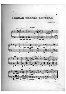 German Hearts Lancers: German Hearts Lancers by William Dressler