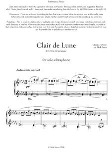 No.3 Лунный свет: Для вибрафона by Клод Дебюсси