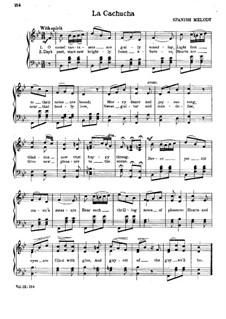 La cachucha: Для голоса и фортепиано by folklore