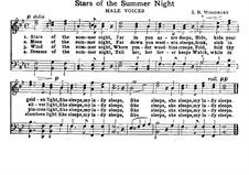 Stars of The Summer Night: Stars of The Summer Night by Isaac Baker Woodbury