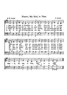 Ближе, Господь, к Тебе: Версия для хора (Соль мажор) by Lowell Mason
