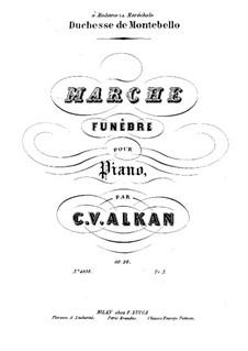 Похоронный марш для фортепиано, Op.26: Для одного исполнителя by Шарль Валантен Алькан