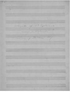 Соната для скрипки и фортепиано No.3 до минор, Op.45: Часть II. Версия для виолончели и фортепиано by Эдвард Григ