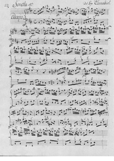 Соната си минор для флейты и бассо континуо: Соната си минор для флейты и бассо континуо by Christian Cannabich