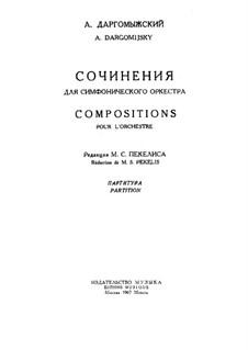 Казачок: Партитура by Александр Даргомыжский