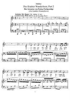 Волшебный рог мальчика: Для голоса и фортепиано (часть II, No.6-14) by Густав Малер