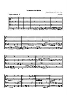 Искусство фуги, BWV 1080: No.2 by Иоганн Себастьян Бах
