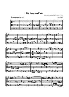 Искусство фуги, BWV 1080: No.8 by Иоганн Себастьян Бах