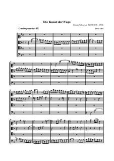Искусство фуги, BWV 1080: No.9 by Иоганн Себастьян Бах