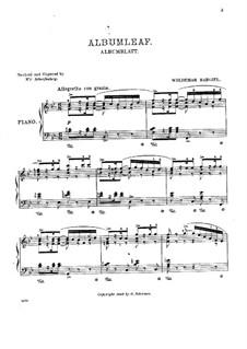 Листок из альбома: Листок из альбома by Вольдемар Баргиль