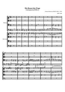 Искусство фуги, BWV 1080: No.18 by Иоганн Себастьян Бах