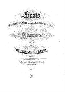 Сюита для фортепиано, Op.31: Сюита для фортепиано by Вольдемар Баргиль