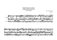 Gelobet seist du, Jesu Christ, BWV 604: Gelobet seist du, Jesu Christ by Иоганн Себастьян Бах