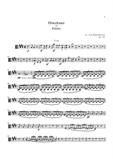 Увертюра: Партия альта by Людвиг ван Бетховен